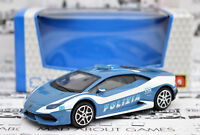 LAMBORGHINI HURACAN POLICE 1:43 Model Diecast Models Die Cast Metal Car Toy