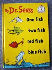 1960 DR SEUSS One Fish Two Fish Red Fish Blue Fish CHILDREN'S Early Edition