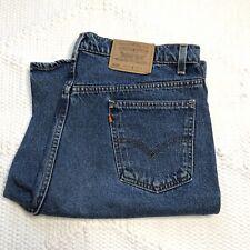 Vintage Levi's Denim Shorts Men's 40 42 Denim 550 Orange Tab Relaxed Fit