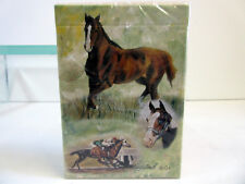 New Racing Horses Deck of Playing Cards Horse Card Set Ruth Maystead HOS-PC