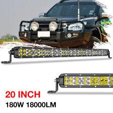 20inch Osram LED Light Bar Work Driving Lamp Combo Single Row Super Slim ATV UTV