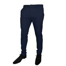 Mens Stretch Slim Fit Chino Trousers Casual Jeans westAce Branded