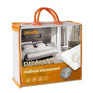 joluzzy Zippered Mattress Protector - 100% Bed Bug Proof / Waterproof Six-Sided