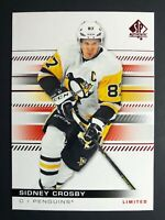 2019-20 SP Authentic Limited Red Sidney Crosby