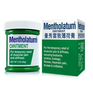 Mentholatum Ointment For Relief of Stiffness, Muscular Pain & Backache 28g