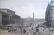 English Postcard Lime Street Liverpool England Uk Two-Color Matte Inland