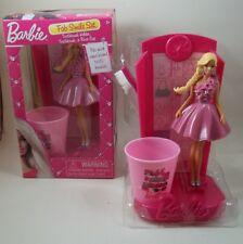 Barbie Fab Smile Set Toothbrush Holder Toothbrush & Rinse Cup 3 Pcs