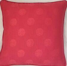 A Laura Ashley cushion cover Orso Raspberry fabric