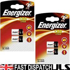 4 ENERGIZER LITHIUM CR2 Photo Batteries DLCR2 Exp 2024