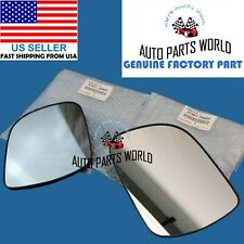 GENUINE OEM TOYOTA 2010-2013 4RUNNER RIGHT & LEFT DOOR MIRROR GLASS SET OF 2