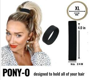 Genuine Pony-O Hair tie Bobble Light Tight Damage Free XL PonyO BAG INSTRUCTIONS