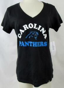 Carolina Panthers Womens Small or Large Screened Team T-Shirt ACPN 70