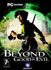 Más allá de buen & Evil-Pc Cd-rom - 3 Cd's - Nuevo