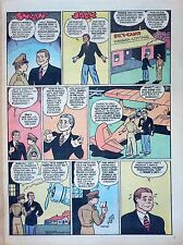 Smilin' Jack by Zack Mosley - full tab page color Sunday comic - Feb. 25, 1945