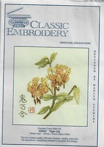 Classic Embroidery Oriental Collection - Tiger Lily