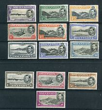Ascension KGVI 1938-53 p13.5 set of 13 SG38//47 mounted mint