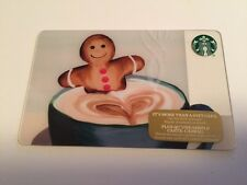 "Canada Series Starbucks ""GINGERBREAD HOT TUB 2016"" Gift Card - New No Value"