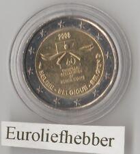 België    2 Euro  Commemorative   2008  UNC ( Rechten van de Mens )   IN stock