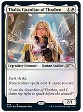 Thalia, Guardian of Thraben (040). Secret Lair. FOIL. Magic the Gathering.