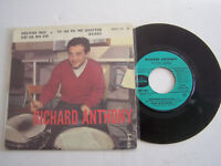 EP 45 T VINYL 4 TITRES ,  RICHARD ANTHONY ,  DELIVRE MOI . G  / G .