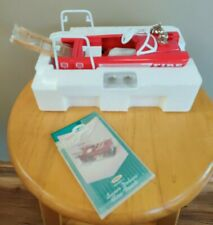 New ListingHallmark Kiddie Pedal Car Classics 1962 Murray Red Super Deluxe Fire Truck Nib