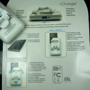 Universal Charger for Samsung Galaxy S5 Active SM-G870A 2800mAh original Battery
