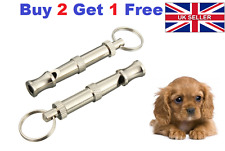 NEW Dog Whistle Adjustable Sound Key Chain Puppy Training Collie High Frequency