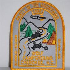 Party in the Mountains 1992 Wolf Campground Cherokee NC Southern Eagle Patch