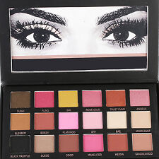 Neu 18 Colors Eyeshadow Textured Pallete Faced Matte Make-up Eye Shadow Palette