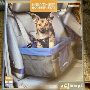Kurgo Dog Car Seat Pet Booster Seat Under 30 lbs Heather New In Box
