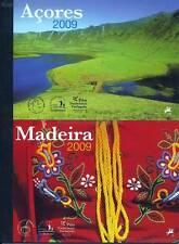 AZOREN + MADEIRA - 2009 JAHRES MARKENHEFTE MH 21 MH 22 MIT EUROPA CEPT **