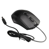 Corded Mouse USB Mouse Computers Laptops Mic for Right or Left Hand Use