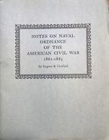 Notes on Naval Ordnance of the American Civil War (1861-1865)