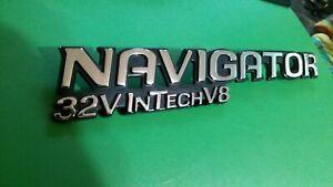 1998-2002 Lincoln Navigator 32V InTech V8 Emblem Badge Nameplate XL74-7843156-AA