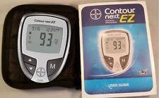 Bayer Contour Next EZ Blood Glucose Meter, Manual and Case