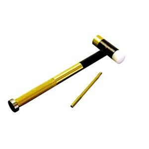 LYMAN Brass No-Mar Multi-Faced Tapper Hammer & Drift Punch Set / USA