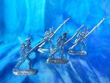 Plats d'étain - flat tin - zinnfiguren : 4 soldats infanterie premier empire (2)