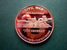 "Civil War ""The General"" 1 oz Copper Round"