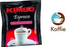 100 Kimbo Cialde Espresso ROSSO Box da 100 pezzi ESE 44 NAPOLETANO