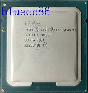 Intel Xeon E5-2450L V2 OEM 1.7GHz 10-Core SR19U LGA1356 CPU Processor