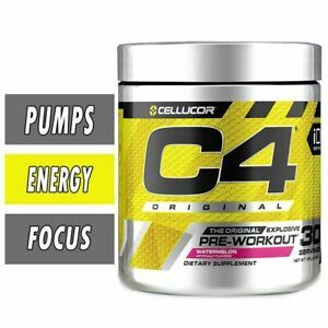 Cellucor C4 iD Energy Pre-Workout 30 60 Servings Strawberry Watermelon Pineapple