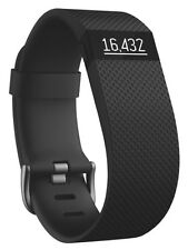 Fitbit Charge HR Wristband Activity Sleep Heartrate Tracker - Small, Black