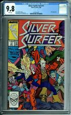 SILVER SURFER #v3 #11 (1987) CGC 9.8 WHITE PAGES NOVA appearance NEW CGC CASE