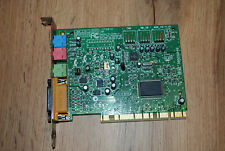 Soundblaster Soundkarte Creative CT4810 PCI incl. original Treiber CD