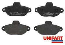 For Fiat - Panda 2003-On / Punto 1993-2010 Front Brake Pad Set Unipart