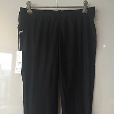 ZAMBESI NWT$310 Black Sub-DenStretch PullOn Narrow Leg Pants,Leggings Aust12/US8