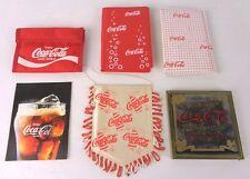 vari oggetti coca cola promozionali