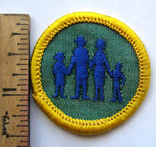 Vintage Girl Scout 1963-1970 Cadette FAMILY LIVING BADGE History Heritage Patch