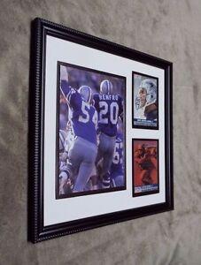 Dallas Cowboys Chuck Howley Super Bowl V MVP Cards Framed Photo 9X9 Frame