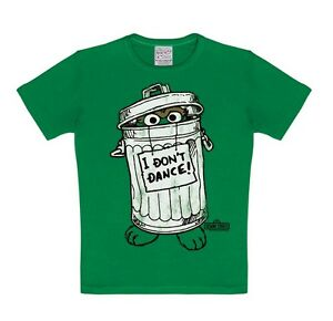T-shirt pour enfant I Don`t Dance - Rue Sésame - Mordicus - Ocsar the Grouch